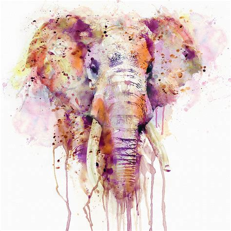 Online Home Plans by Elephant Mixed Media By Marian Voicu