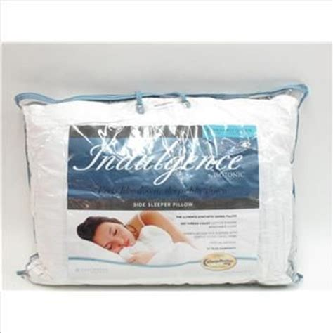 Indulgence By Isotonic Pillow by Side Sleeper Pillow Bed Bath And Pillows On