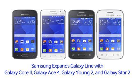 Samsung Galaxy Core Ii Ace 4 Young 2 And Star 2 Unveiled | samsung expands galaxy line with galaxy core ii galaxy
