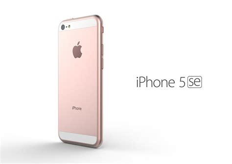 5 iphone se iphone 5se rendered by tomas moyano concept phones