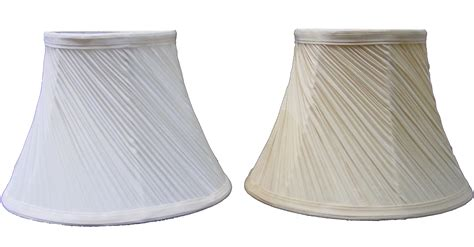 pleated l shades for floor ls 12 quot mushroom swirl pleated light shade ceiling table l