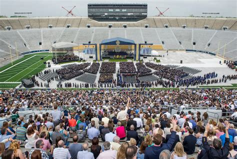 Notre Dame Mba Graduation 2015 by Notre Dame Commencement 2015 Fr Jenkins Charge