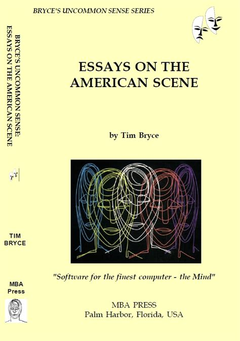 How Is The American Mba by Bryce S Uncommon Sense Series Mba Press