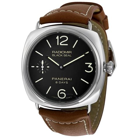 Panerai Watches Panerai Radiomir Black Brown Leather S