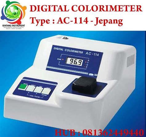 Termometer Aspal Digital jual alat ukur warna digital colori meter type ac114