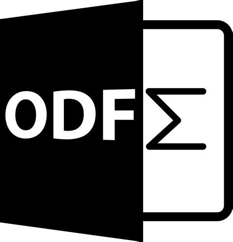 odf file format symbol svg png icon