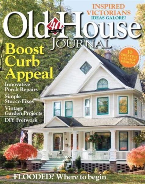 Old House Journal Magazine Subscriptions Renewals Gifts