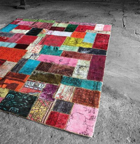 Carpet Handmade - handmade patchwork rug design by miinu interiorzine