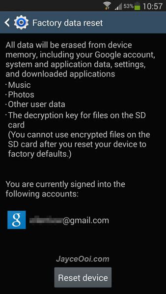 reset samsung note 3 to factory settings how to factory reset galaxy note 3 jayceooi com