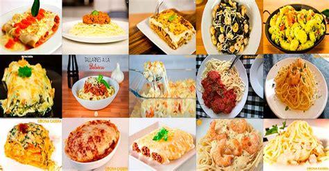 recetas de cocina pastas faciles recetas de pasta f 225 ciles cocina casera