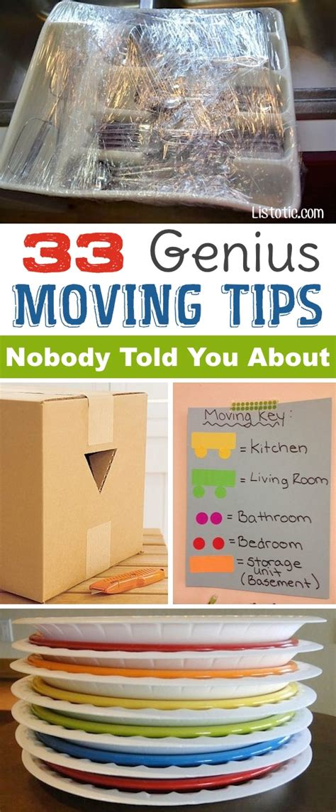 packing hacks for moving 33 helpful moving tips and tricks that everyone should know