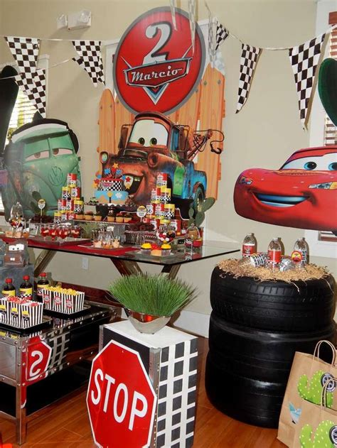 cars themed birthday decorations disney pixar car party birthday party ideas disney
