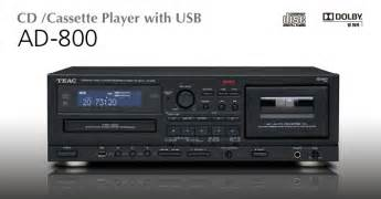 cd player deck ad 800 teac