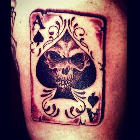 tattoo ace meaning ace of spade tattoo by audrey mello tattoos pinterest