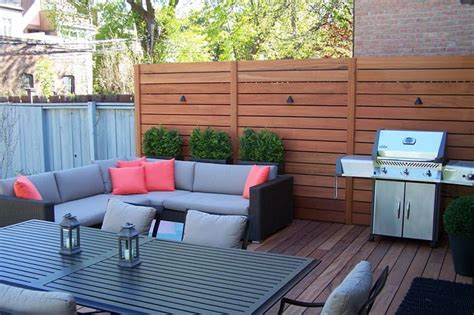 privacy screen ideas for backyard deck privacy screen patio yard pinterest deck