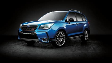 subaru forester 2016 black subaru forester ts special edition adds sti goodies but