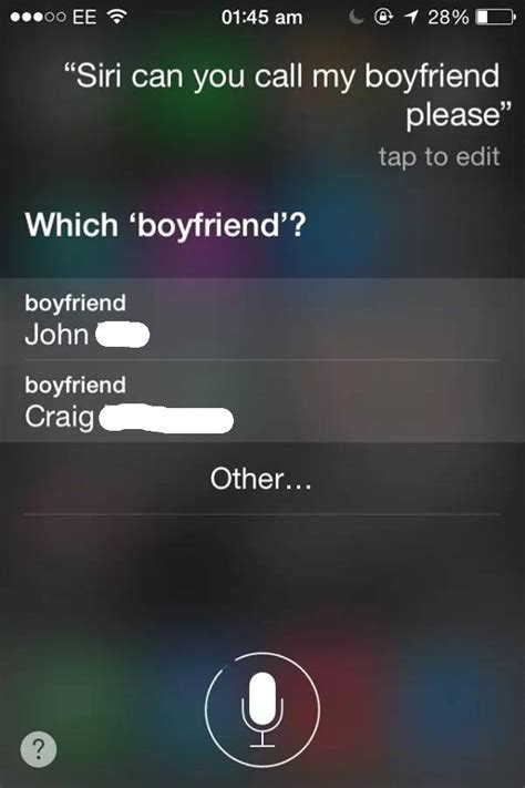 hi dont feel well cortana girl asks siri funny question iphone responds in