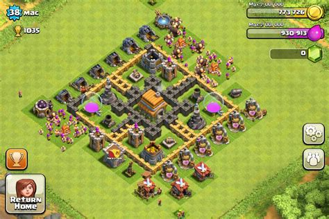 clash of clans strategy town hall level 5 car interior clash of clans tips town hall level 6 layouts