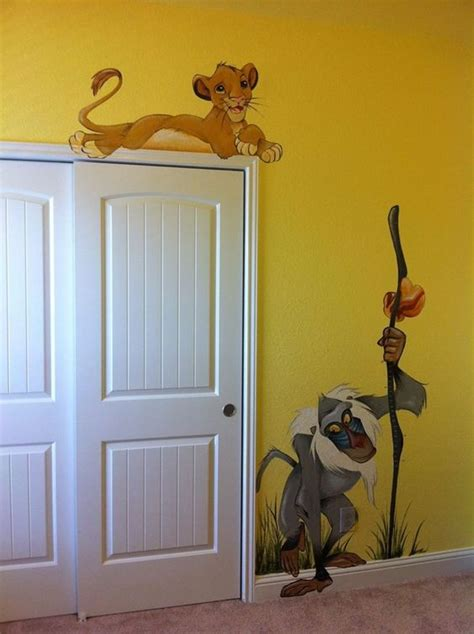 Murals Lion And King On Pinterest King Nursery Decorations