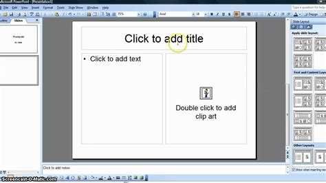 How To Create A Simple Student Powerpoint Presentation Youtube How To Create A Template In Powerpoint