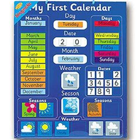 My Calendars Magnetic My Calendar Chart Reviews Child