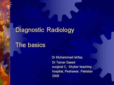diagnostic radiology authorstream
