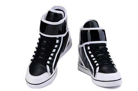 beautiful adidasals rivet high top shoes black white