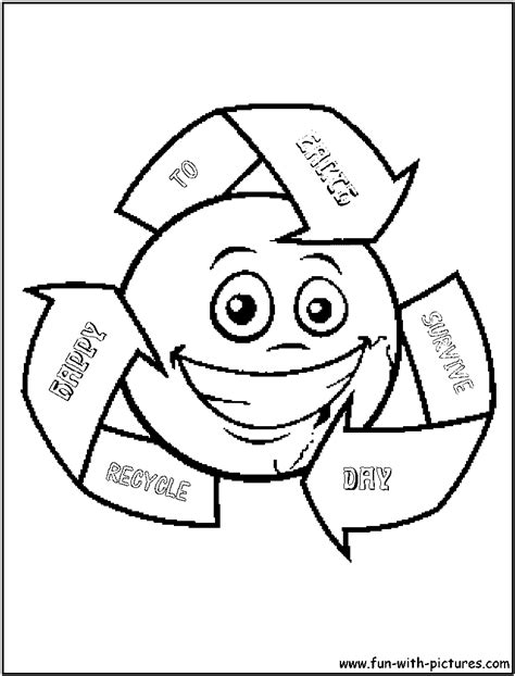 coloring pages for recycling free coloring pages of recycle