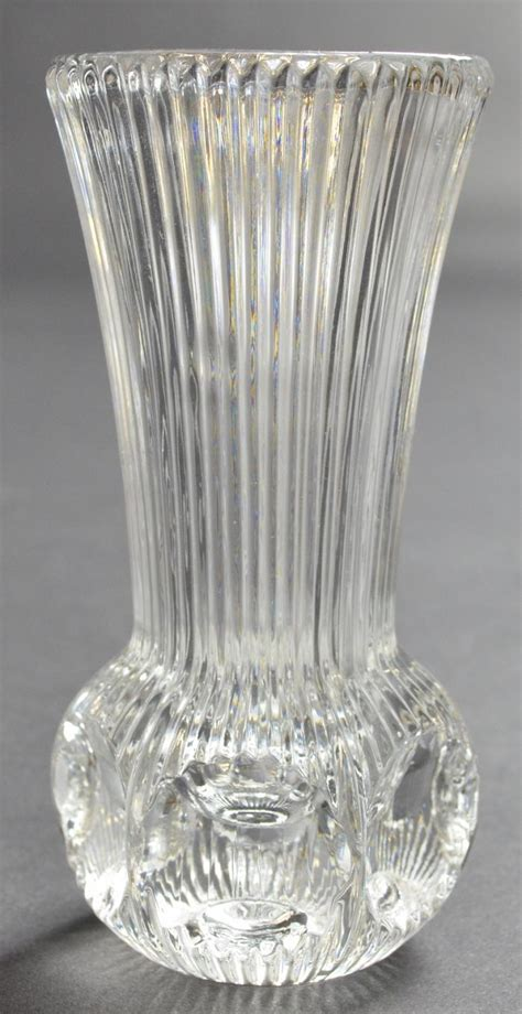 vase patterns fostoria bud vase melissa pattern ribbed flower bouquet