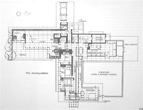 usonian floor plans frank lloyd wright house plans usonian