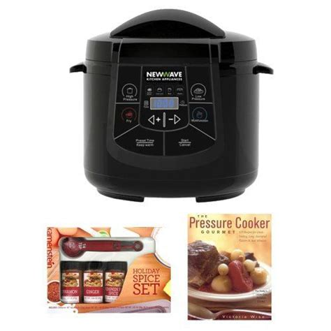 newwave kitchen appliances newwave nw800 6 in 1 multi cooker electric pressure cooker