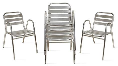 chaise de jardin aluminium fauteuil de jardin en aluminium