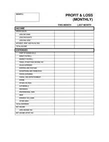 free profit and loss template best photos of profit and loss statement template profit