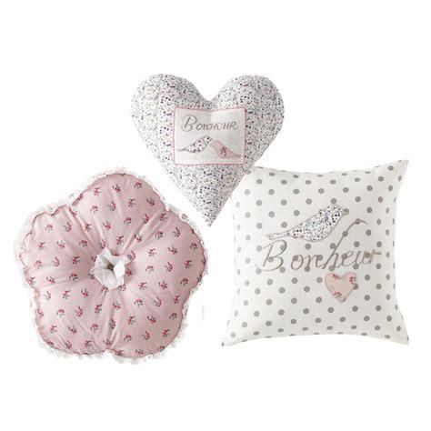 Ines Set ines set of 3 child s cushions maisons du monde