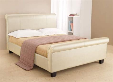 Aero Bed Frame Aero Faux Leather Bed Frame Cheap Leather Beds