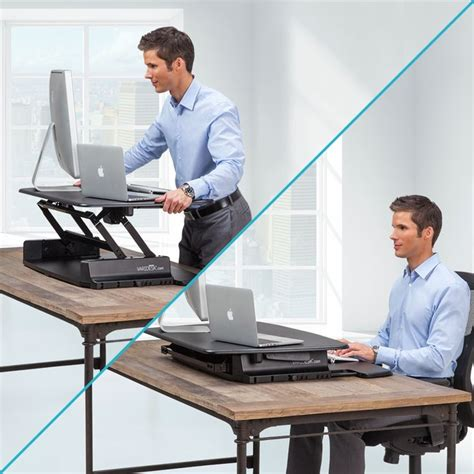 Standing Desk Office 17 Best Images About Arch Desk Standing On Sit Stand Desk Pedestal And Cubicles
