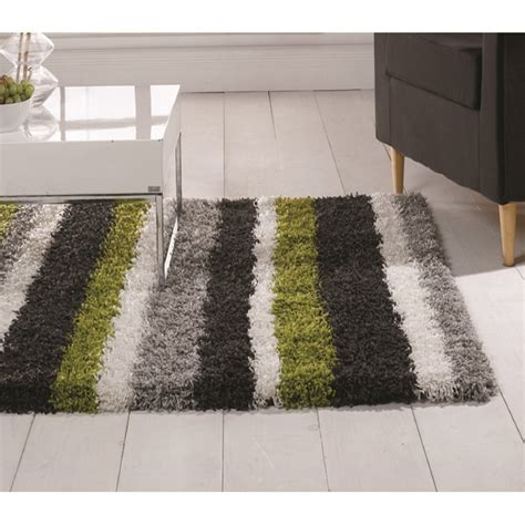 Green And Gray Rugs by Lime Green Grey Nordic Channel Rug Carpet Runners Uk