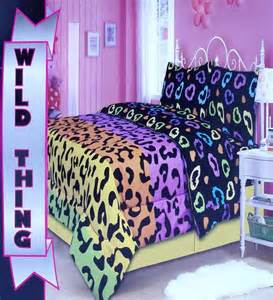 cheetah print twin comforter cheetah wild thing print twin comforter sheets 4pc bedding