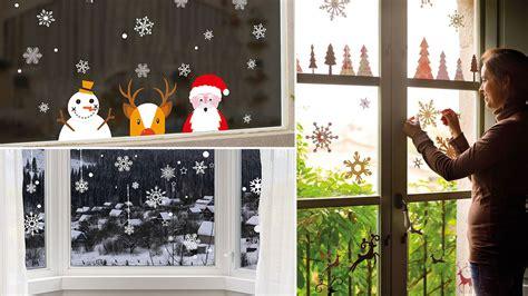 decoracion con vinilos decorar las ventanas con vinilos navide 241 os blog hogarmania