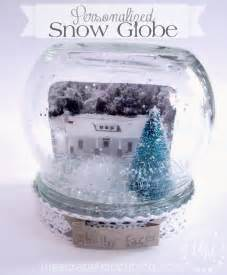 workshop wednesday personalized snow globe the scrap