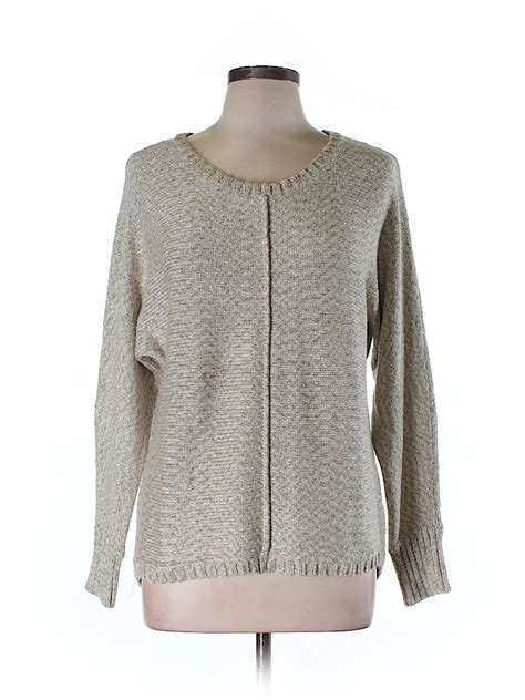 Sweater Tribal 79 tribal solid beige pullover sweater size l 76 thredup