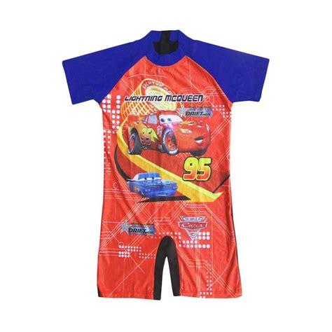 Baju Renang Anak Cars Hitam Xl jual rainy collections diving karakter cars baju renang anak biru usia 6 11 tahun
