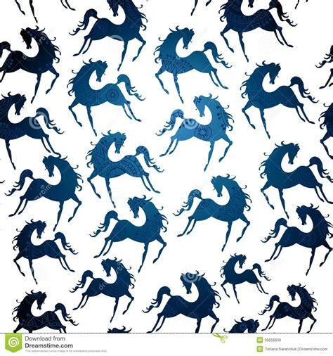 stock horse pattern symbol of 2014 horse pattern stock photo image 35656930