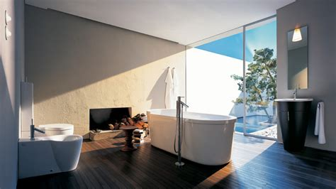 Modern Bathroom Design Ideas 2013 Ideen F 252 Rs Bad Zeitloses Traumbad Mit Axor Starck