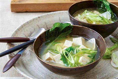 ginger miso soup recipe leites culinaria