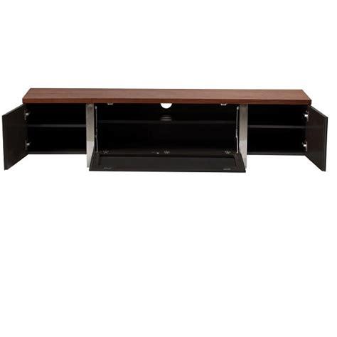 wooden tv cabinet with glass doors hessel wooden tv cabinet large in walnut with grey glass