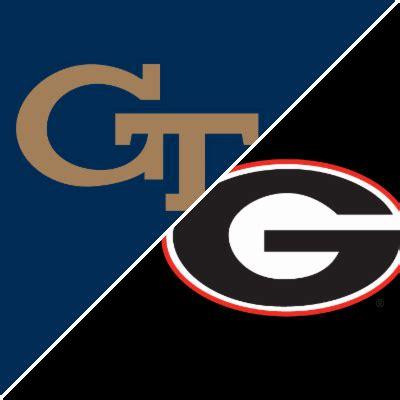georgia tech vs. georgia game summary november 26