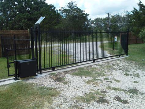 automatic gate openers automatic gates kistler fence