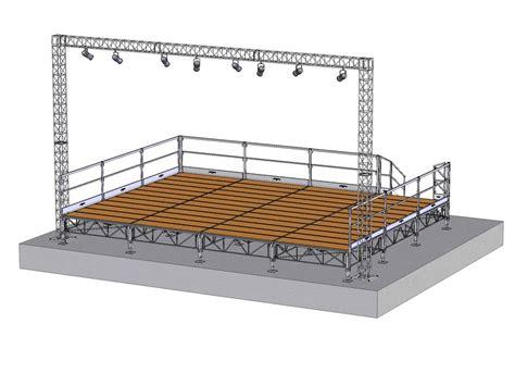 Diy House Plans sistema modulare per palco e tribuna in metallo de luxe