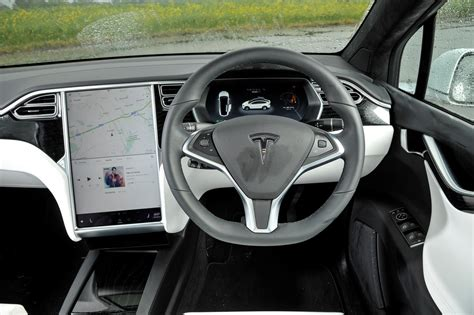Tesla Suv Interior by Tesla Model X Suv Review 2016 Parkers